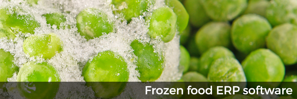 Frozen Food ERP Software