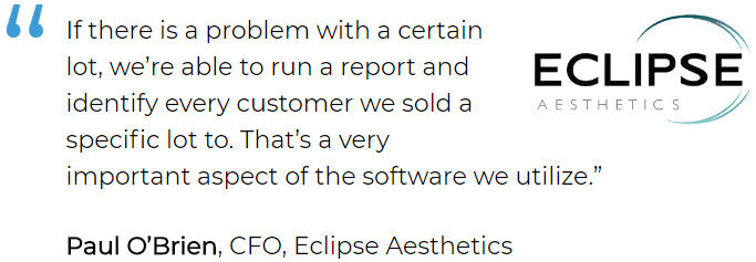 Medical Supply Software User Eclipse Aesthetics