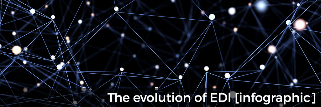 The evolution of EDI infographic for small business education