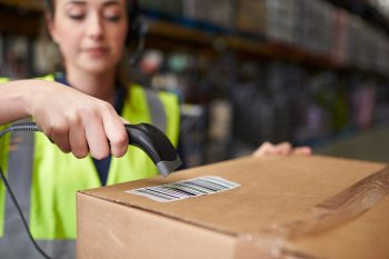 Order fulfillment automation with barcoding