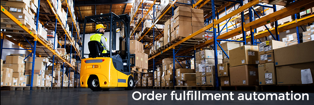 Order fulfillment automation for small businesses