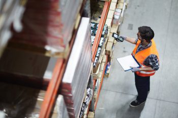 Order fulfillment ecommerce with barcoding