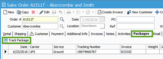 Ship EDI orders and track in Acctivate