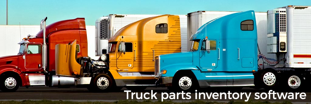 Truck Parts Inventory Software integrates with QuickBooks®