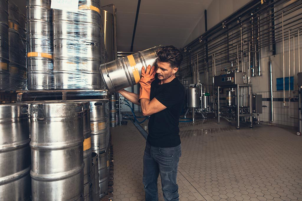 software for brewery management with keg tracking