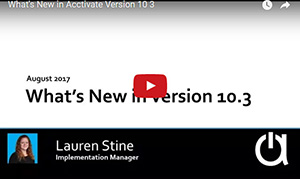 What's New in Acctivate Version 10.3 Webinar
