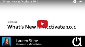 What's new in Acctivate Version 10.1 Webinar