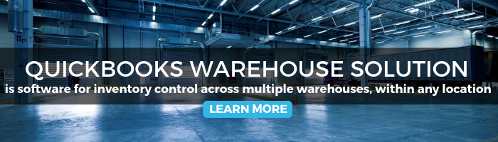 quickbooks warehouse solution