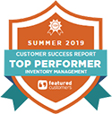 Acctivate awarded Inventory Management Top Performer in customer success report by Featured Customers