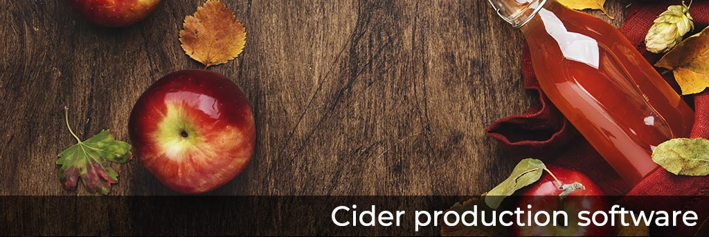 Cider production software