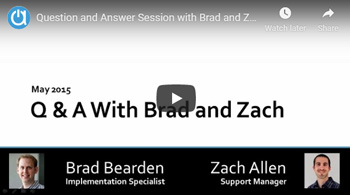 Acctivate Webinar: Q&A Session with Brad and Zach