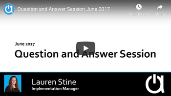 Acctivate Webinar: Q&A about QuickBooks Synchronization