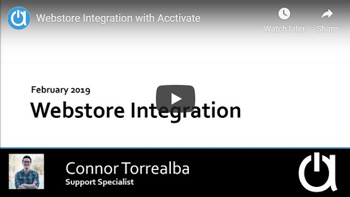 Addon Modules Webinars: Webstore Integration