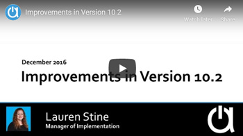 Acctivate Webinar: Improvements in Version 10.2