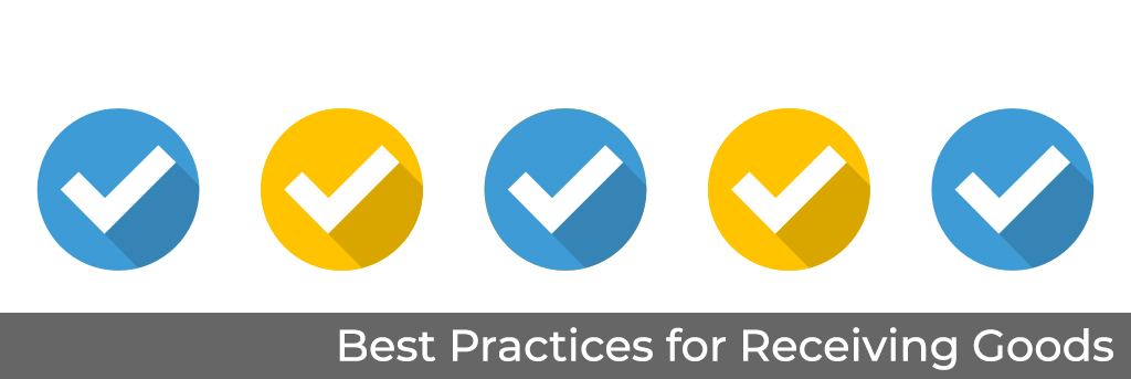 best practices for receiving goods