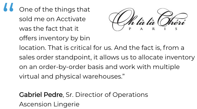 quickbooks inventory tracking bin locations