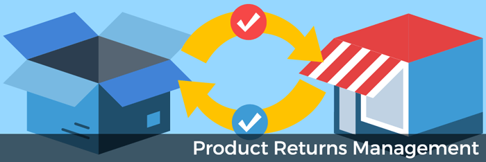 Product returns management in Acctivate