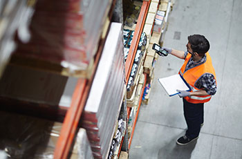 android warehouse management system picking