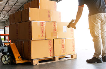 android warehouse management system receiving